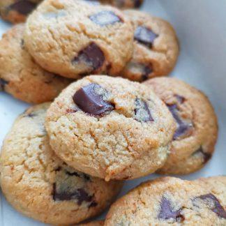 Sugar-Free Choco Chunk Cookies